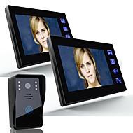 Ennio 7 video portão porta-voz do intercomunicador 1000tvl camera de segurança ao ar livre 2pcsindoor monitor