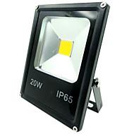 20w levou luz de inundação 1500lm outdoorlight IP65 à prova de água quente / frio holofote cor branca para a casa (AC85-265V)
