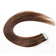 wątki taśmowe ludzkich włosów rozszerzeniach # 60 platynowy blond 20szt / opak szwu pu skóry wątku brazylijski remy nowe produkty do