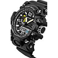 SANDA Heren Voor Stel Sporthorloge Militair horloge Slim horloge Modieus horloge Polshorloge Digitaal Japanse quartzLED Chronograaf