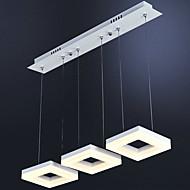 3 fej 30w modern egyszerűség vezetett függesztett lámpák fém nappali / hálószoba / étkező