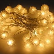 100-ledede 10m stjerne lys vandtæt stik udendørs jul ferie dekoration lys førte streng lys