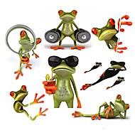 ziqiao rãs 3d etiqueta do carro à prova de água automóveis engraçado gecko&motocicletas em vinil autocolante