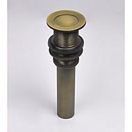 アンティーク真鍮 ポップアップ式 排水ドレイン/シンク (0698 -1004)