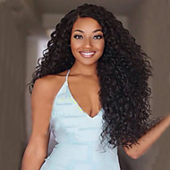 Top Quality Fashion Middle Part Long Curly Black Synthetic Wig for Sexy Lady Synthetic Wigs