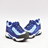 Feminino-Tênis-ConfortoAzul Marinho Azul Claro-Camurça Tule-Ar-Livre Escritório & Trabalho Social Casual Para Esporte