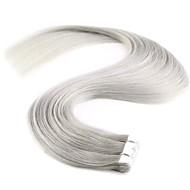 20 '' 10kpl uusi muoti mini nauha ihmisen hiusten pidennykset 100% remy pu iho kude