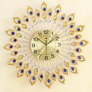 Moderne/Contemporain Bureau / Affaires Famille Ecole/Diplôme Amis Horloge murale,Nouveauté Cristal Métal 67*67 Intérieur Horloge