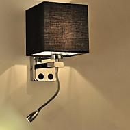 AC 220-240 40W   ledX1W E26/E27 Moderno/Contemporâneo Cromado Característica for LED,Luz Ambiente Lâmpadas de Parede Luz de parede