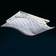 Uppoasennus ,  Moderni Galvanoitu Ominaisuus for LED Lasi Living Room Makuuhuone Ruokailuhuone Työhuone/toimisto