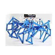 Leketøy til Gutter Oppdagelsesleker Robot Metall Plast Brun