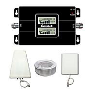 écran LCD lintratek 3g 900 2100 téléphones cellulaires bibande répéteur de signal de rappel pour mts / Télé2 / MegaFon / vodafone