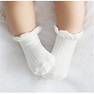 子どもたちは、チューブの靴下の外国貿易にソリッドカラーポイントソックス子供の綿の労働者パイルソックス綿の靴下