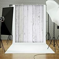 5x7ft Holzwandboden Fotografie Hintergrund Studio Requisiten blau Board Thema neu