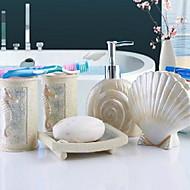 Zestaw akcesoriów łazienkowychŻywica /Śródziemnomorski