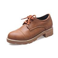 Ženske Oksfordice Udobne cipele Svjetleće tenisice Bullock cipele Mikrovlakana Proljeće Ljeto Jesen Zima Kauzalni Formalne prilikeUdobne