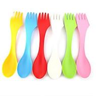 פלסטיק מזלג ארוחת ערב כפית סוכר כפיות מזלגות סכינים