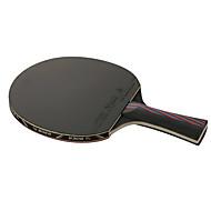 Ping Pang/탁구 라켓 Ping Pang 탄소 섬유 긴 핸들 여드름 1 라켓 3 탁구공 1 탁구 가방