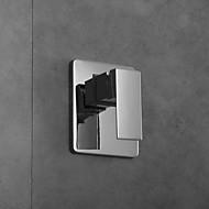 lämpötila termostaattisen sekoituslaitteen valvewall asennettu ohjausventtiili mikseri kromi suihku venttiili