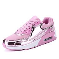 Γυναικεία αθλητικά παπούτσια ανοιξιάτικα πούπουλα υπαίθρια casual sequin ροζ ροζ ασημί μαύρο τρέξιμο