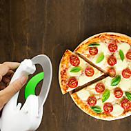 1 db Cutter & Slicer For Gyümölcs Növényi Mert főzőedények Pizza Műanyag Rozsdamentes acél Jó minőség Több funkciós Kreatív Konyha Gadget