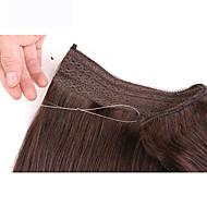 """22"""" Remy 100% hiuksista näkymätön lanka handband hiuksista laajentaminen 100g"""