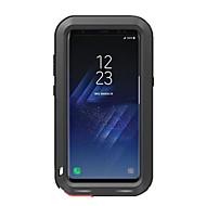 Para Antichoque Impermeável Capinha Corpo Inteiro Capinha Cor Única Rígida Metal para Samsung S8 S8 Plus