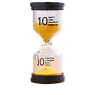 Leketøy til Gutter Oppdagelsesleker Timeglass Sylinder-formet Plast Glass
