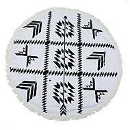 Strandhåndkle,Reaktivt Trykk Høy kvalitet 100% Polyester Håndkle