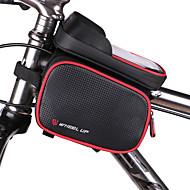 Geantă MotorGenți Cadru Bicicletă Impermeabil Fermoar Impermeabil Purtabil Multifunctional Ecran tactil Geantă BiciletăPU piele Material