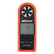 kkmoon kannettava mini ammattilainen LCD digitaalinen tuulimittari tuulen nopeus ilman nopeus ilman lämpötila mittauslaitteen