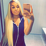 New Style T1B/613 Skily Straight Lace Front Human Hair Wigs with Baby Hair Glueless Lace Front Wigs Brazilian Virgin Hair Wigs for Black Woman