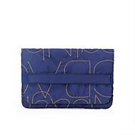 Damen Taschen Ganzjährig Baumwolle Aufbewahrungstasche mit für Normal Blau