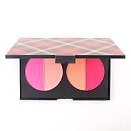 Blush Powder Palette Face Cheek Makeup Blusher Matte Corail Pink Cosmetic Bronzer Cheerbones Highlight Orange Kit Pan of 4