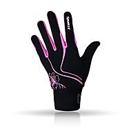 SPAKCT Спортивные перчатки Жен. Перчатки для велосипедистов Осень Зима Велоперчатки Сохраняет тепло Нескользящий Меньше тренияПолный
