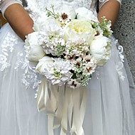 Bryllupsblomster Buketter Bryllup 9.84 tommer (ca. 25cm)