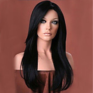 Ethereal Black Natural Long Hair Wig Synthetic Wigs For Women