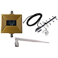 Gsm 900mhz amplificateur de signal de téléphone portable amplificateur répéteur de kit d'antenne