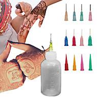 henné applicateur corps kit de tatouage temporaire encre à base de plantes mehndi