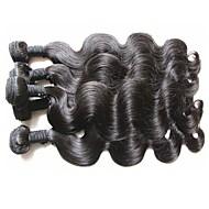 Hurtowy najlepszy brazylijski dziewiczy włosy wiązki 1kg 10pcs dużo ciała fala styl nieprzerwane ludzkie włosy tkactwo naturalny czarny