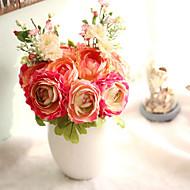 1 Une succursale Plastique Plantes Lotus Fleur de Table Fleurs artificielles