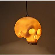 kreatív személyiség csontváz halloween maszk téma étterem vendéglő bár felső droplight kávézó folyosó dekoráció műszaki koponyák droplight