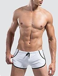 mannen elastisch / spandex zwembroek