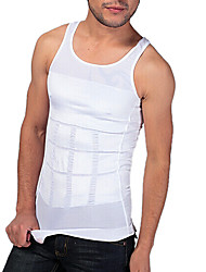 miesten Shaper laihtumiseen tankki liivi tiukka Alusvaatteet vyötärö vatsa piirtäminen hengittävä Sports Edition valkoinen ny082
