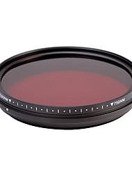 fotga® all-in-one nastavitelný 530nm-750 nm infračervený ir průchod x-ray filtr objektivu 46/49/52 / 55mm