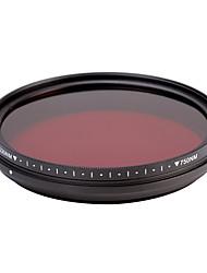 fotga® all-in-one nastavitelný 530nm-750 nm infračervený ir průchod x-ray filtr objektivu 77mm
