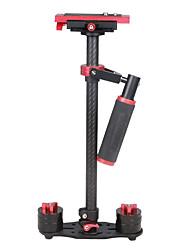 yelangu s60t 60cm szénszálas kézi stabilizátor DSLR fényképezőgép dv (piros)
