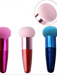 Puff av pulver/Skjønnhetsblender Sminkebørster 10 Normal Brun Rosa Rose