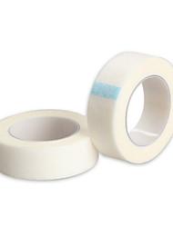 2 ruller profesjonell øyenvippe vippeforlengelse papir medisinsk Micropore tape bandge wraps medisinsk kirurgisk tape