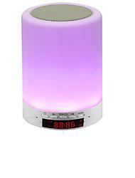 lâmpada de alto-falante Bluetooth lâmpada de indução de toque inteligente escurecimento sete luzes